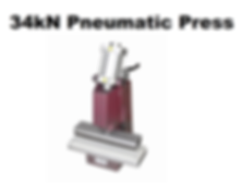 34kN Pneumatic Press for Cutting ASTM Samples