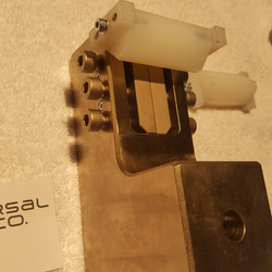 ASTM D7078 fixture with sample guide