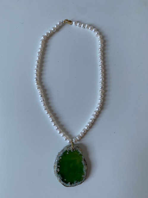 ENERGY GREEN Necklace