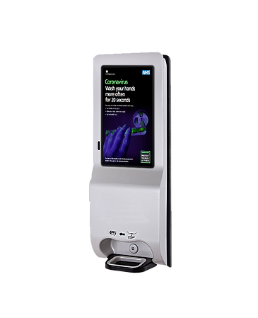 Wall Mounted Digital Hand Sanitiser Dispenser - Florence | Let's Sanitise
