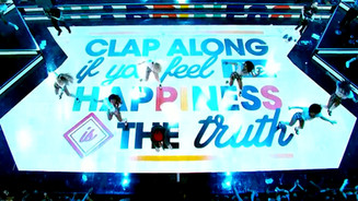 "PHARRELL ""HAPPY"" PERFORMANCE, NBA ALL STAR WEEKEND"