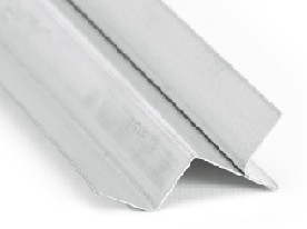 Tabica metálica branca para forro dry wall