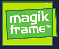 Magik Frame Reusable Sign Holder Logo