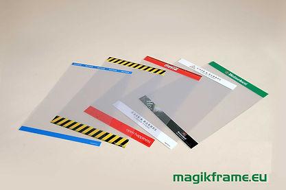 Custom Magik Frames - branding