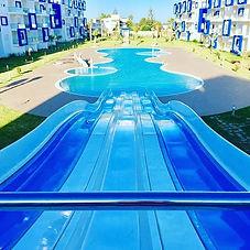 Réalisation d'une grande piscine résiden