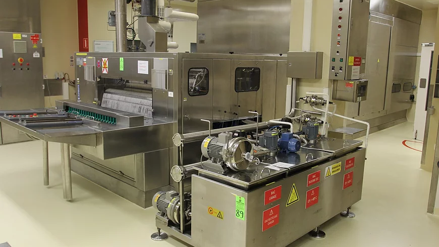 CLGB01 - PROT VIAL CLEANING LINE