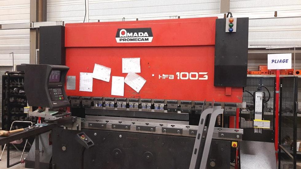 Amada CNC 100 Ton Press Brake