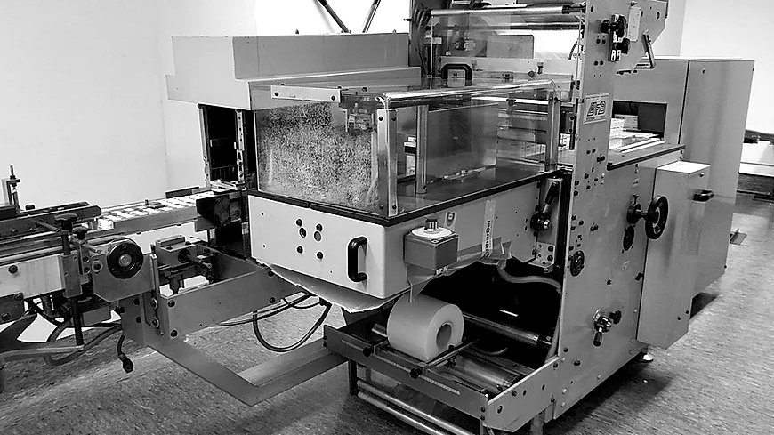 BP007 - BFB & LARA SHRINK WRAPPER 3707- M 2000 PACKING OVEN