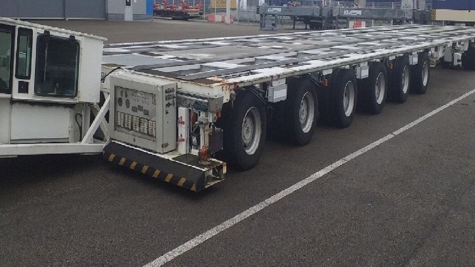 NICOLAS Transporter Cap. 135 Ton