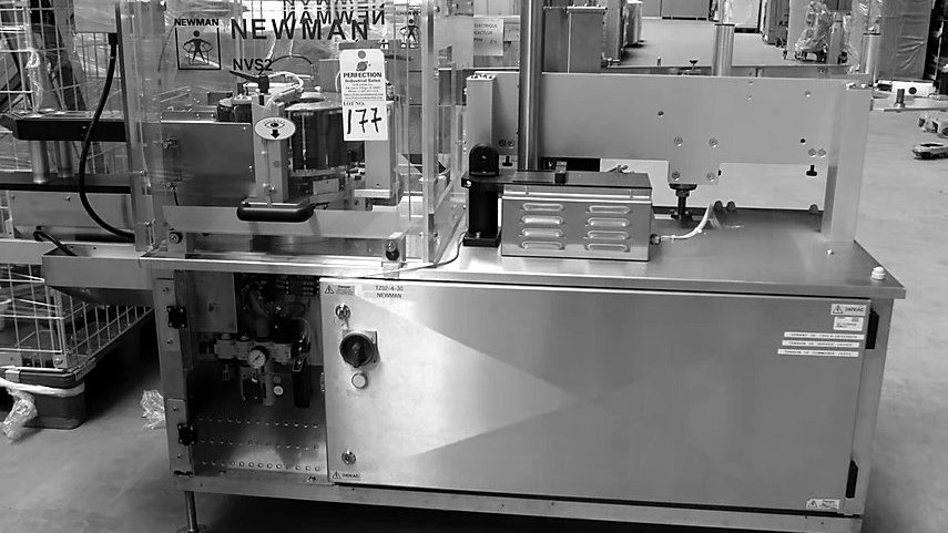 177 - NEWMAN LABELLING NVS PACKAGING EQUIPMENT