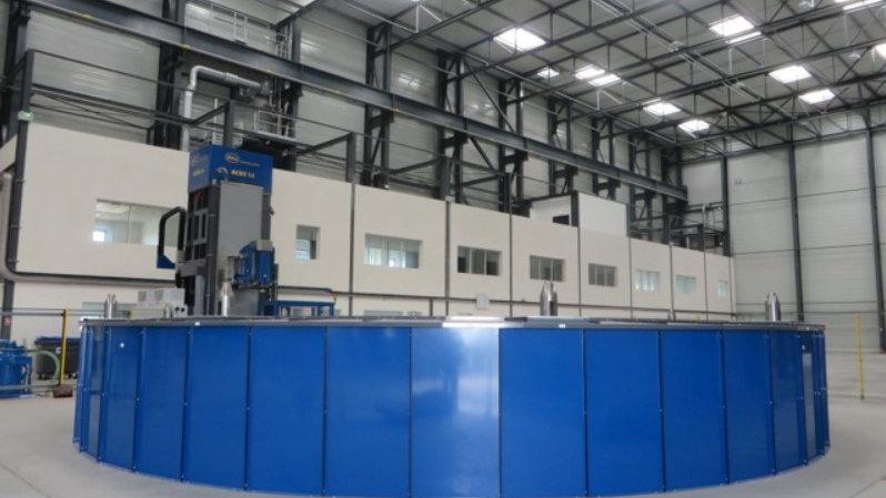 MIBA CNC Vertical Machining Center