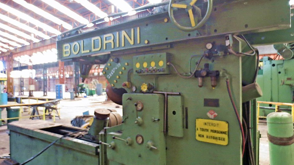 Boldrini Flanging Machine Cap. 20mm*4000mm