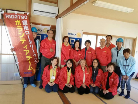 千葉県へ、災害支援ボランティアに