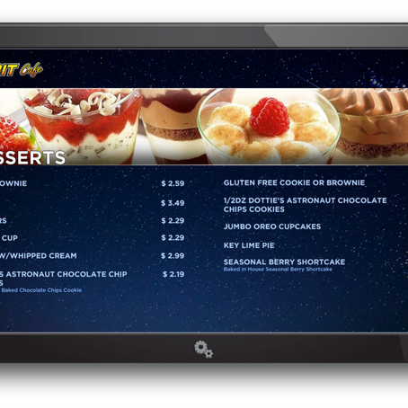 5 Reasons you need an Integrated Digital Menu Board