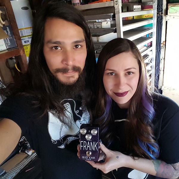 Chuck Bennett and Stephanie Carver Bennett
