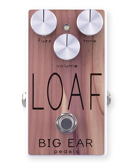 SQUATCH x BIG EAR pedals Cedar-Topped LOAF Fuzz