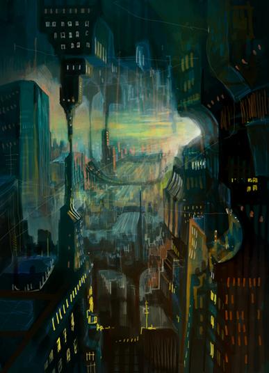 Sci-Fi Stadt, 2020