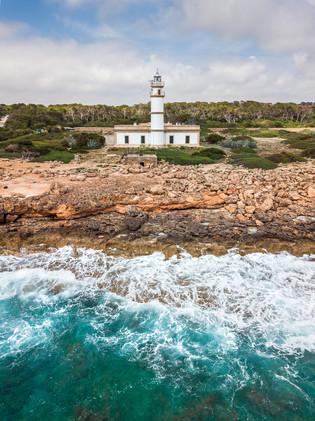 Far des Cap de ses Salines, Mallorca