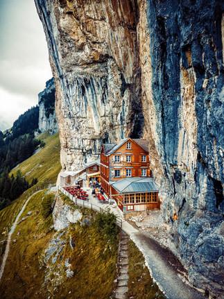 Aescher Gasthaus, Appenzeller Land, Switzerland