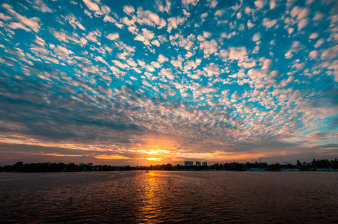 Army of Clouds, Havel River, Potsdam, Germany