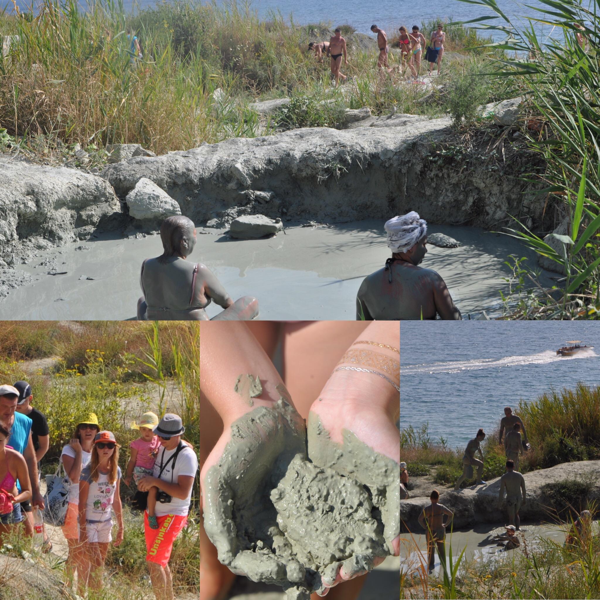 Голубая глина в Бухте Инал