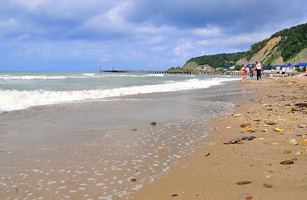Лермонтово фото пляжа