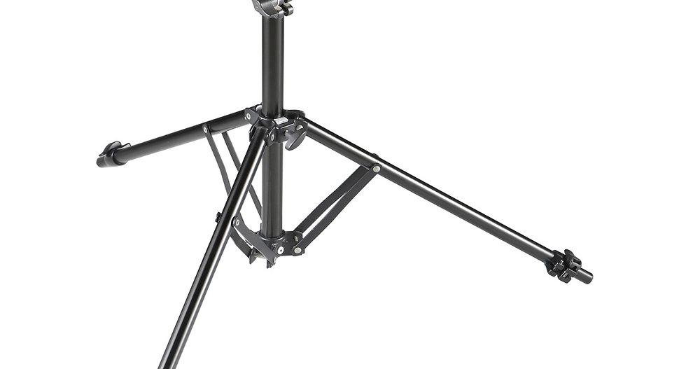 Blitzstativ Aluminium 220cm 1,35kg Klappstativ Füße ausziehbar Packmaß 49cm
