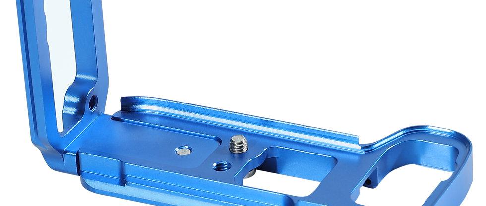 L-Winkel L-Halterung L-Platte kompatibel mit Sony A7M3 A7III A7 III A73 Blau