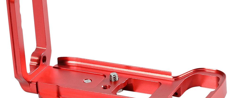 L-Winkel L-Halterung L-Platte kompatibel mit Sony A7M3 A7III A7 III A73 Rot