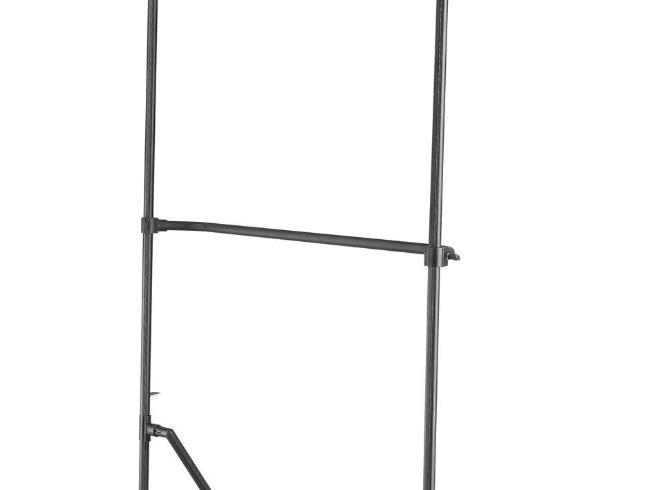 1x2m Aluminiumrahmen mit abnehmbarer Querstange und Standbeine