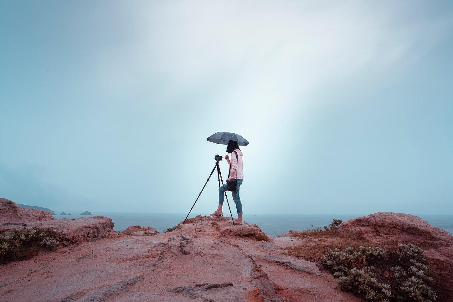 Fotografieausrüstung Landschaft