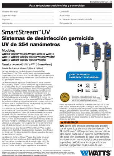 Smartstream Luz UV