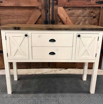 Two-tone Buffet Table
