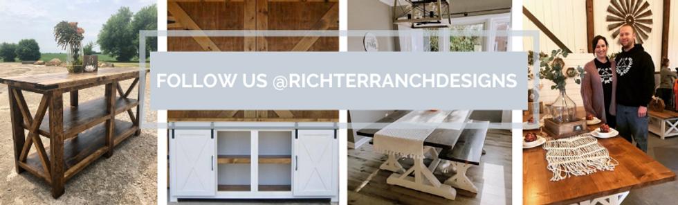Instagram graphic for Richter Ranch Designs