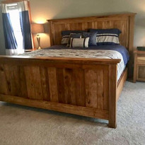 Hickory Bed Room Set