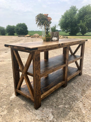 Farmhouse Buffet Table