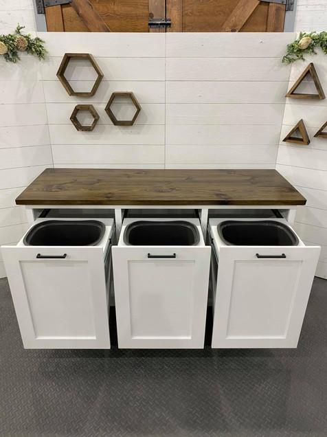 Laundry Bin Cabinet