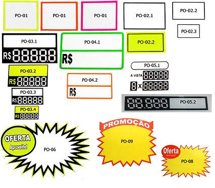 Placa PVC de Promoção/Oferta