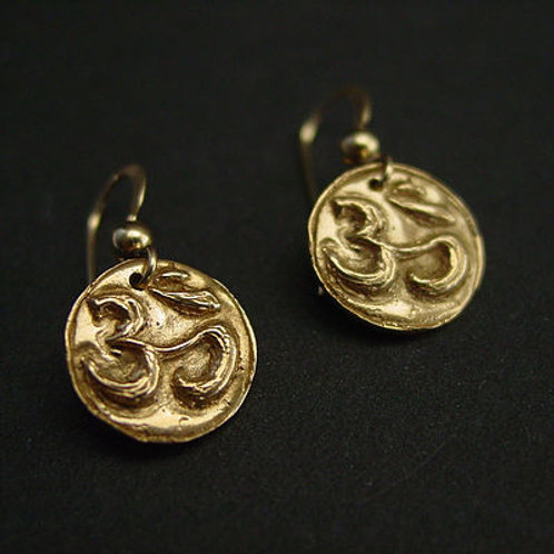 Tiny Om earrings