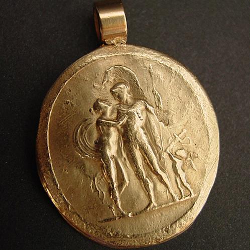 Cameo Ares, Aphrodite and Eros - Pendant