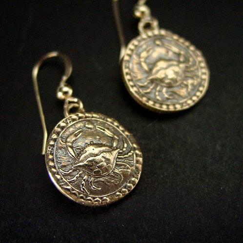 Cancer earrings
