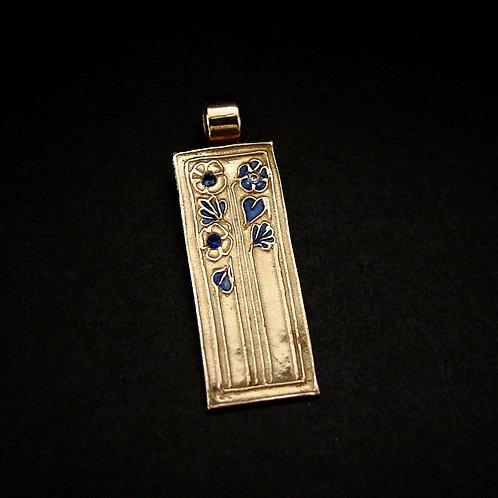 Daisy Art Deco pendant