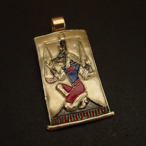 Anubis guardian of the dead pendant anubis pendant aloadofball Images