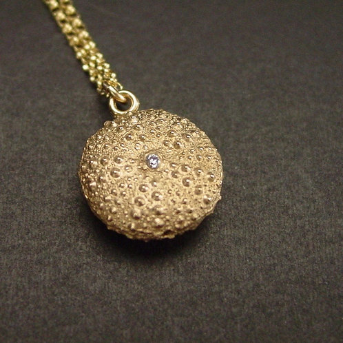 Double Sided Baby Sea Urchin Necklace
