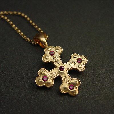 Trefle cross pendant treflee orthodox cross pendant aloadofball Gallery