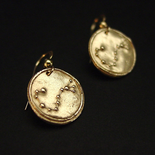 Scorpio Zodiac Horoscope constellation earrings