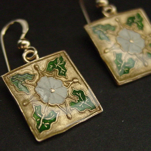Cala Lili Square Art Deco earrings