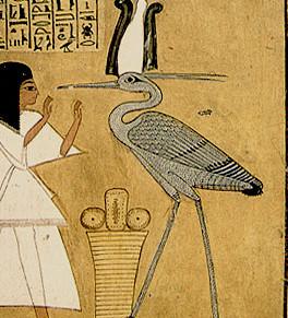 Egyptian Phoenix, the Benu bird