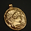 Hermes | Mercury | Messenger of the Gods cameo pendant