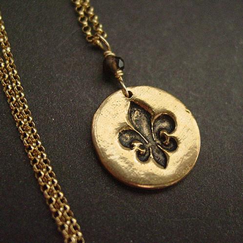 Fleur de Lis - Necklace